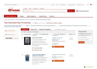 en.ofweek.com Gas Generator/Gas Processing