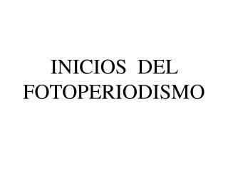 INICIOS  DEL  FOTOPERIODISMO
