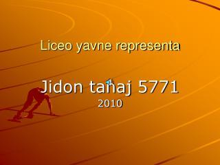 Liceo yavne representa
