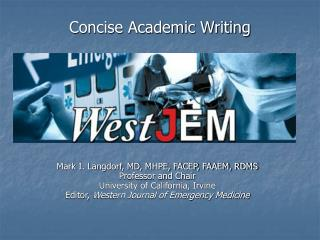 Concise Academic Writing