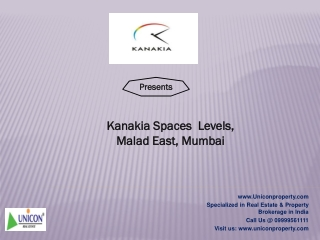 Kanakia Spaces Levels Malad East