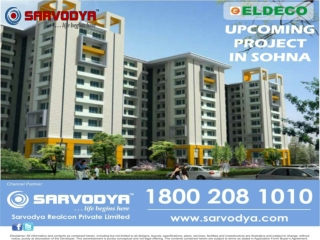 Soft Launch Eldeco Project in Sohna 7838334455