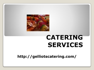 Catering Service Tampa Bay Florida