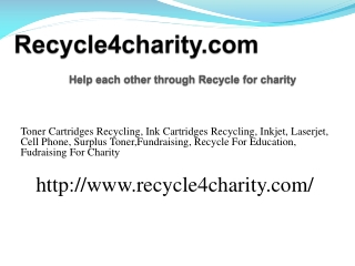 Toner Cartridges Recycling