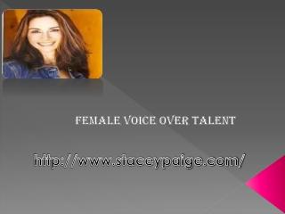 Training Voice