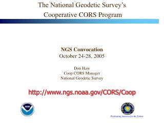 ngs.noaa/CORS/Coop