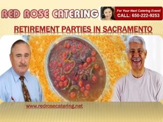 Retirement Party Sacramento