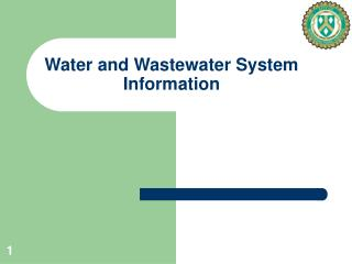 Water and Wastewater System Information