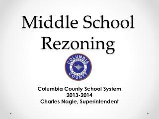 Middle School Rezoning