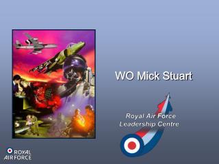 WO Mick Stuart