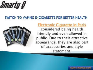 Buy Affordable Vaping E-Cigarette in Peris !