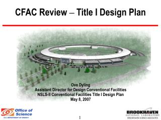 CFAC Review – Title I Design Plan
