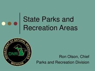 State Parks and Recreation Areas