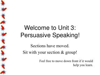 Welcome to Unit 3:
