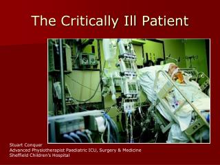 The Critically Ill Patient