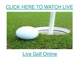 watch constellation energy senior players championship golf