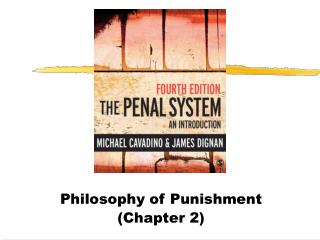 define punishment philosophy Rehabilitate or punish a punitive philosophy of corrections has made today's prisons much more on crime approach that sees punishment as prison.
