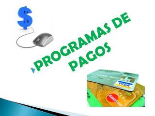 PROGRAMAS DE PAGOS