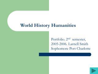 World History Humanities