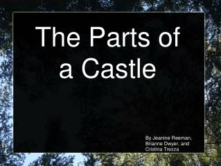 The Parts of a Castle