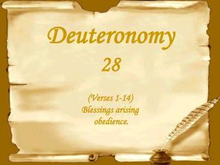 Deuteronomy28