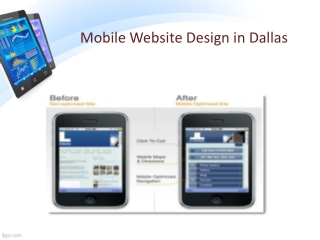 Mobile Website Design in Dallas