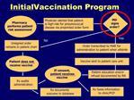 Initial Vaccination Program