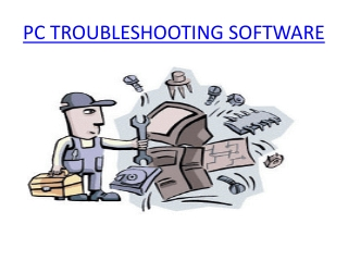 PC Troubleshooting Software