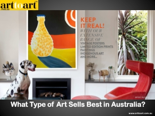 What Type of Art Sells Best in Australia?