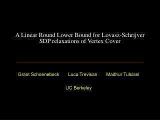 Minimum Vertex Cover