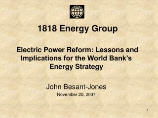 1818 Energy Group