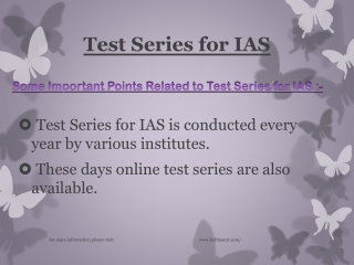 Hello Crack the Test Series for IAS