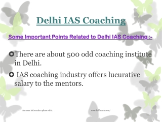 Information about Delhi IAS Coaching