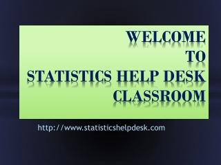 Statistics Assignment Help, Statistics Homework Help, Statis