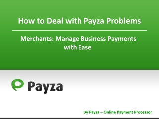 How Merchants Can Avoid Payza Problems