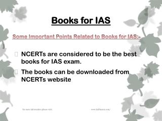 The best books for IAS Exam