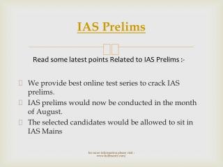 Very helpful knowledge for IAS Prelims