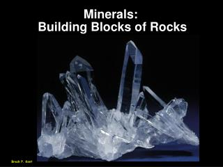 Minerals: 