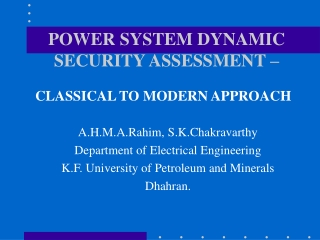 itsd electrical power engineering assessment