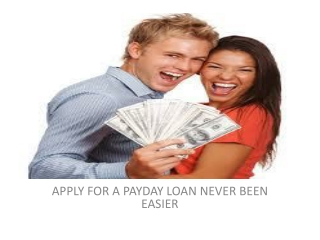 Quick Cash Payday Loan