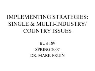 BUS 189