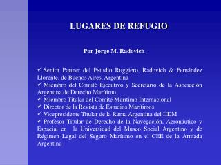 LUGARES DE REFUGIO