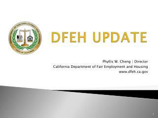 DFEH UPDATE