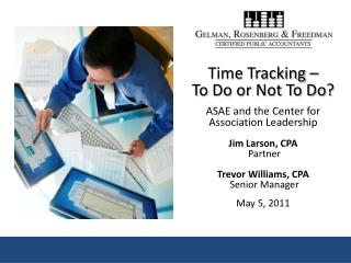 Time Tracking Discussion
