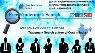 Trademark Registration in India | FreeTrademarkSearch.co.in