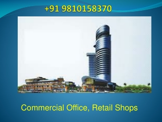 91 9810158370 | VSR Commercial Project Sector 85 Gurgaon