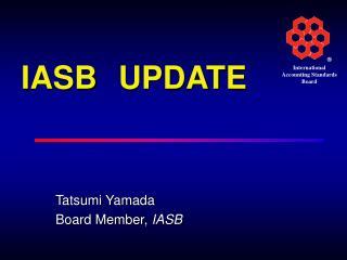 IASB UPDATE