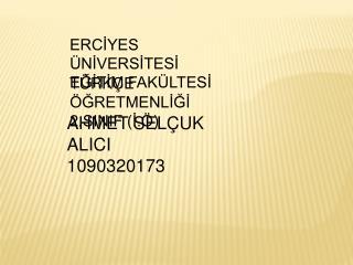 AHMET SELÇUK ALICI1090320173