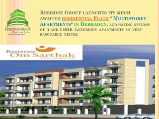 Choose the High quality Flats in Dehradun