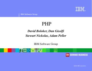 ©2005 IBM Corporation